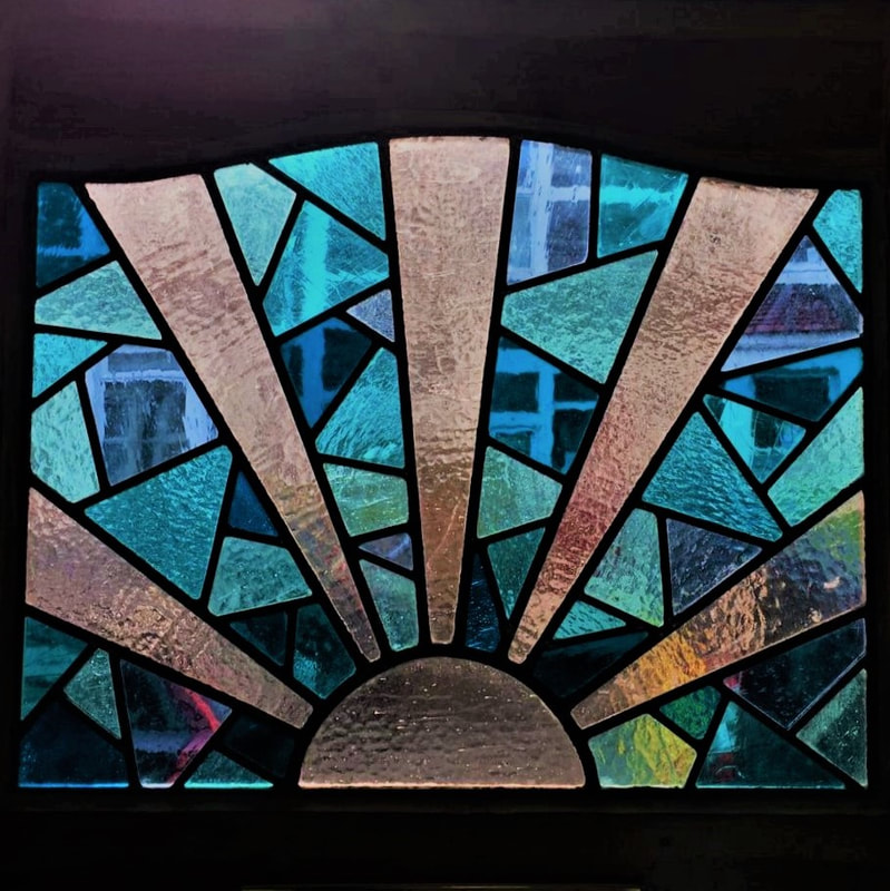 Stained Glass Services offered by Peirs Hampton in the Bristol area include restoration and repair, commissions and etched, brilliant cut and painted glass
